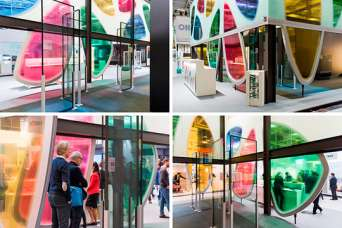 На всемирной выставке BAU 2019 представлен новый материал из стекла и камня