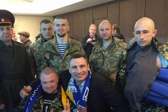 Кличко снял с себя ответственность за землю и жилье для бойцов АТО