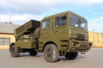 На базе КрАЗа представили новую боевую машину