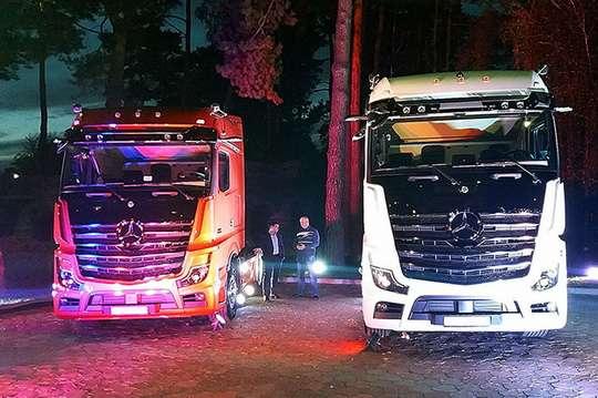 В Украине представили 5-е поколение Mercedes-Benz Actros