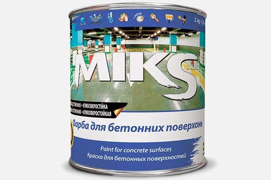 На рынке ЛКМ появилась новая краска для бетонных поверхностей
