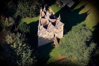Какие тайны хранит в себе треугольный английский замок. Фото