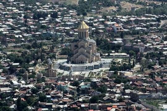 Где находится один из самых больших Троицких Соборов мира. Фото