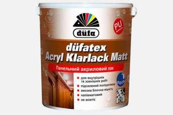На лакокрасочном рынке Украины представлен панельный акриловый лак