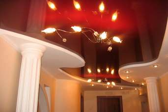 Сравнительные характеристики натяжных и подвесных потолков