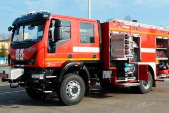 Украинские пожарные получат новые спецавтомобили на базе IVECO