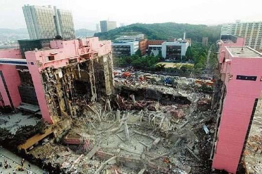 12 крупнейших строительных катастроф мира. Фото