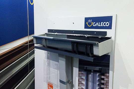 Galeco представляет на рынке Украины скрытую водосточную систему