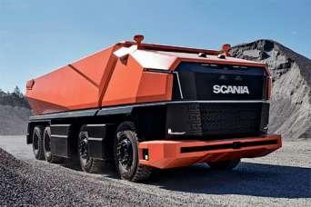 На дороги планеты выходят тяжелые беспилотные грузовики. Видео