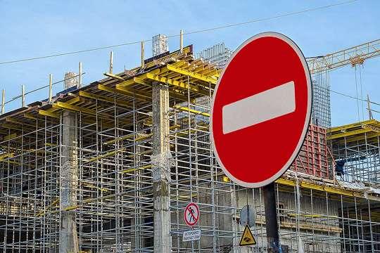 В Черкасской области массово останавливают строительство