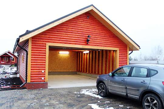 Готовые гаражи