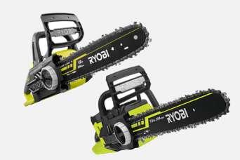Ryobi выпустила аккумуляторные цепные пилы с напряжением 18 и 36 вольт