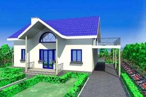 Как построить недорогой, теплый и легкий дом