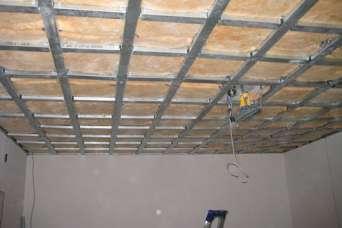 Как самому сделать из гипсокартона подвесной потолок любой сложности