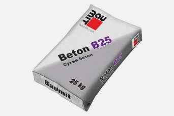 В Украине представлена модифицированная бетонная смесь Baumit Beton B25