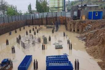 В Одессе остановили строительство жилья у моря