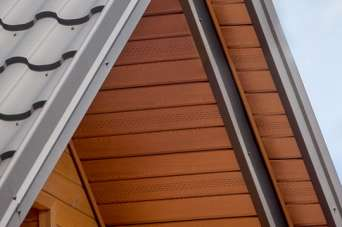 На рынке кровельных материалов представлена подшивка для стальной крыши
