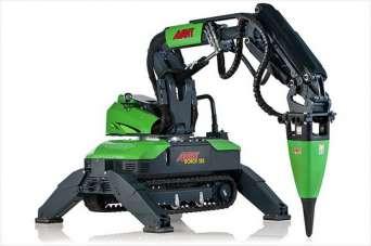 Как выглядели роботы для сноса и демонтажа зданий. Видео