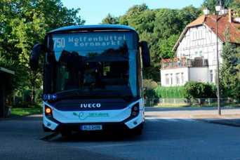 Электрический автобус IVECO E-Way установил новый рекорд автономности