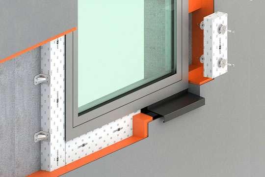 Как монтировать окна прямо через утеплитель. Фото