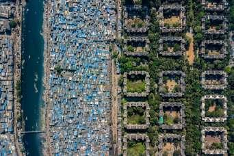 Социальное неравенство - взгляд с неба
