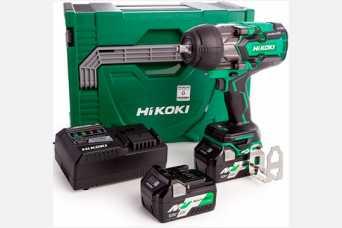 Новый аккумуляторный ударный гайковерт Hikoki WR36DB: конструкция