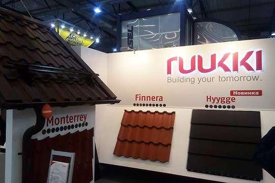 На выставке в Киеве Ruukki представила качественную водосточную систему