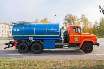 Новая автоцистерна КрАЗ будет транспортировать конденсат коксового газа