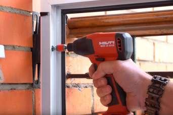 Аккумуляторные инструменты Hilti для оконщиков
