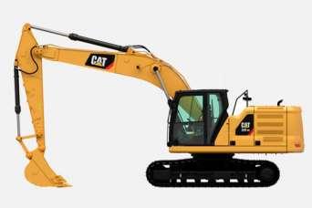 Как выбрать оптимальную модель экскаватора Caterpillar седьмого поколения