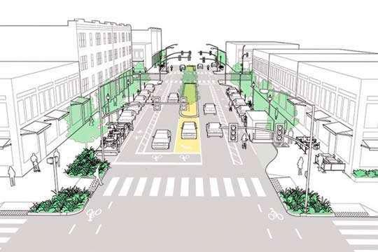Принят новый ДБН для проектирования и строительства улиц и дорог в населенных пунктах