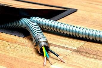 Как правильно подобрать металлорукав для электрического кабеля. Видео
