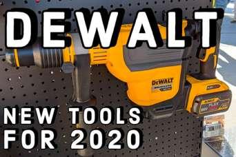 DeWALT представила линейку аккумуляторных новинок 2020 года. Часть 3