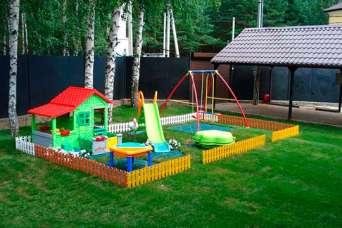 20 лучших вариантов обустройства детской площадки в саду. Фото