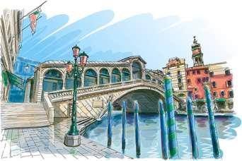 Самые красивые в мире дома-мосты. Фото