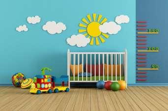 Ігрова кімната для малюків