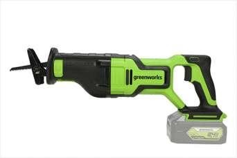 На рынке представлена мощная аккумуляторная сабельная пила ТМ Greenworks