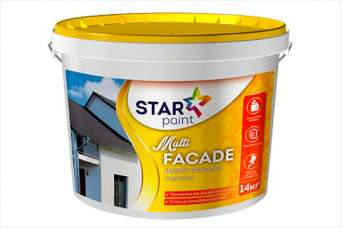 На рынке ЛКМ представлена фасадная краска Multi FACADE