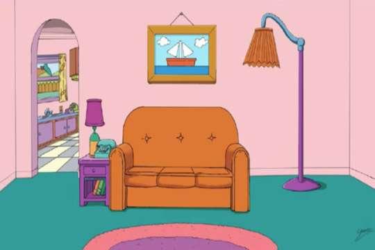 В доме Симпсонов провели ремонт