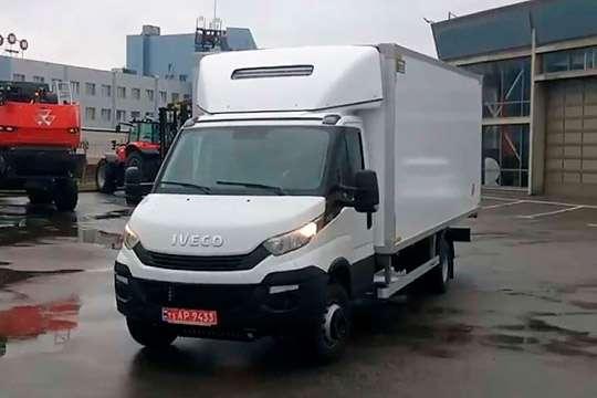 Украинская компания получила современный авторефрижератор.  Видео