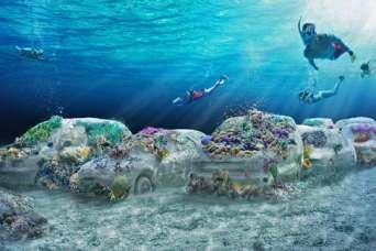 У берегов появится 11-километровый подводный парк