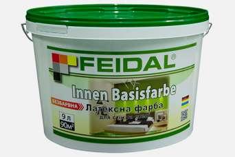 Feidal представила бесцветную латексную краску для внутренних работ