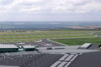 В Днепре начали строить новый аэродром