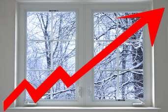 В Украине резко повысились цены на окна