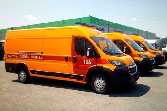 Украинские газовики получили новые спецавтомобили на базе Peugeot