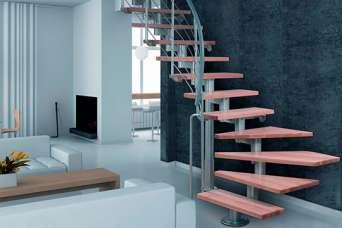 Что такое модульная лестница: ее особенности, виды, плюсы и минусы