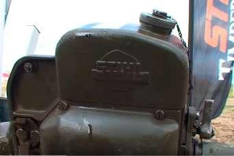 Курьезы: до сих пор отлично работает бензопила выпуска 1943 года. Видео