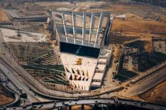 Самый большой музей в мире почти достроили