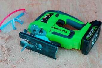 24-вольтовый аккумуляторный лобзик Greenworks GD24JS. Обзор