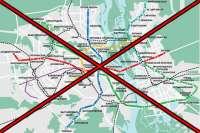 Киев расхотел строить метро на Троещину?